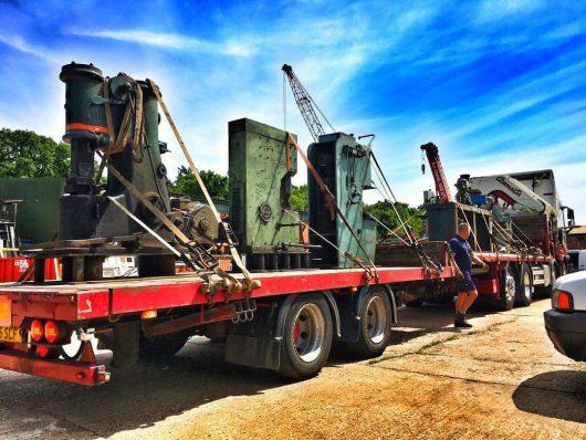 Alec Steele Lorry Workshop Move